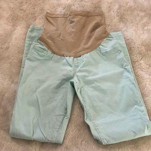Mint maternity skinny jeans